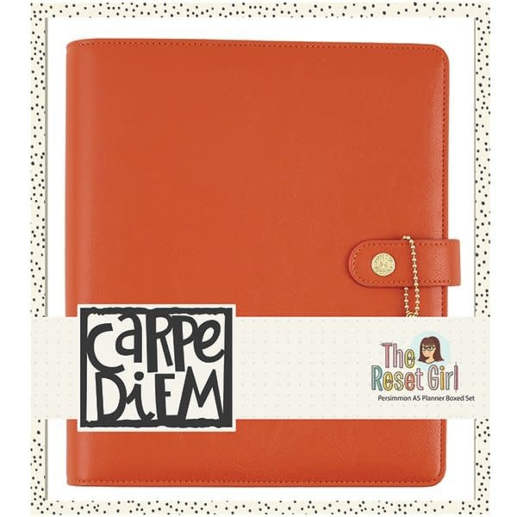 Carpe Diem Carpe Diem - The Reset Girl - Persimmon A5 Planner Box Set