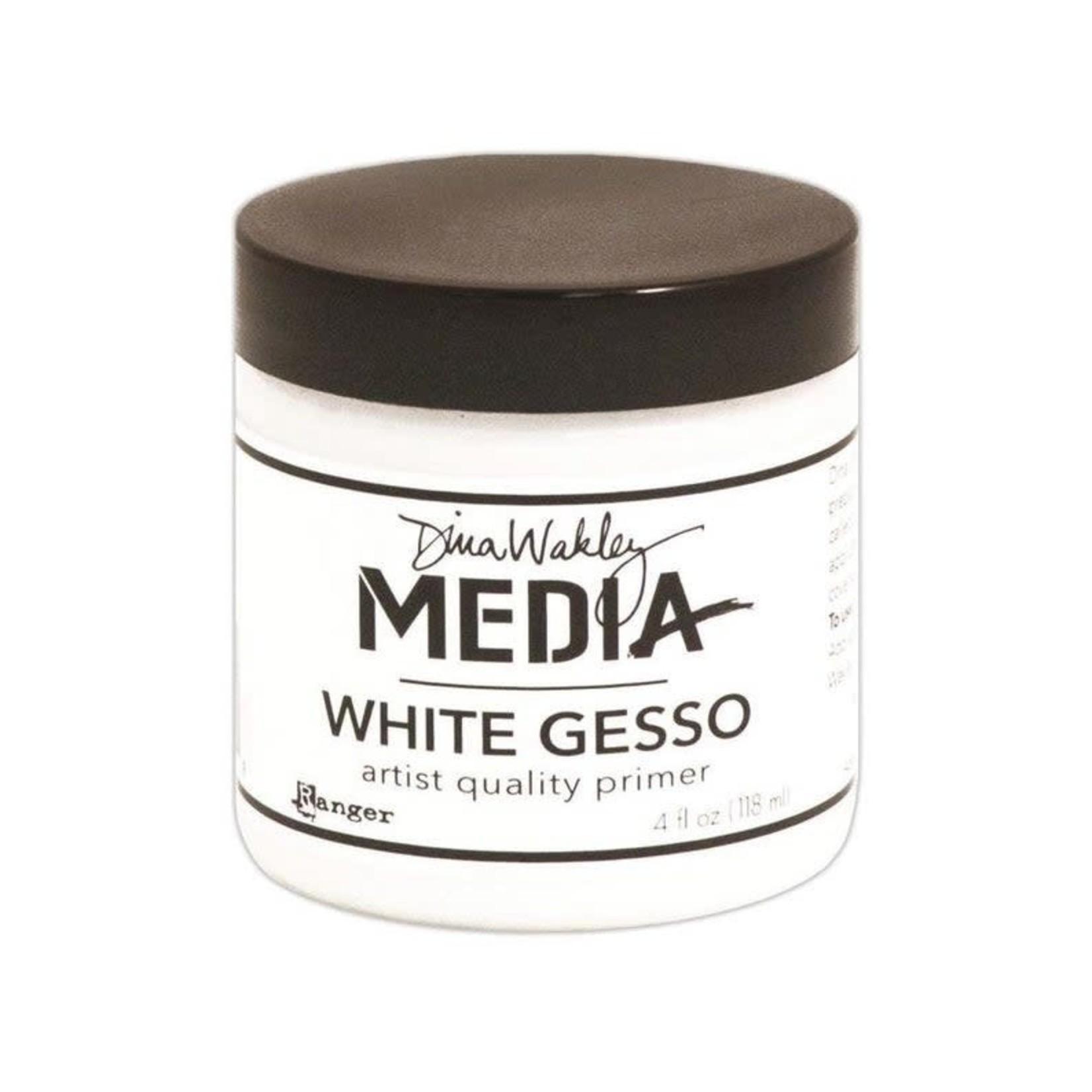 Ranger Dina Wakley Media Gesso 4oz Jar-White