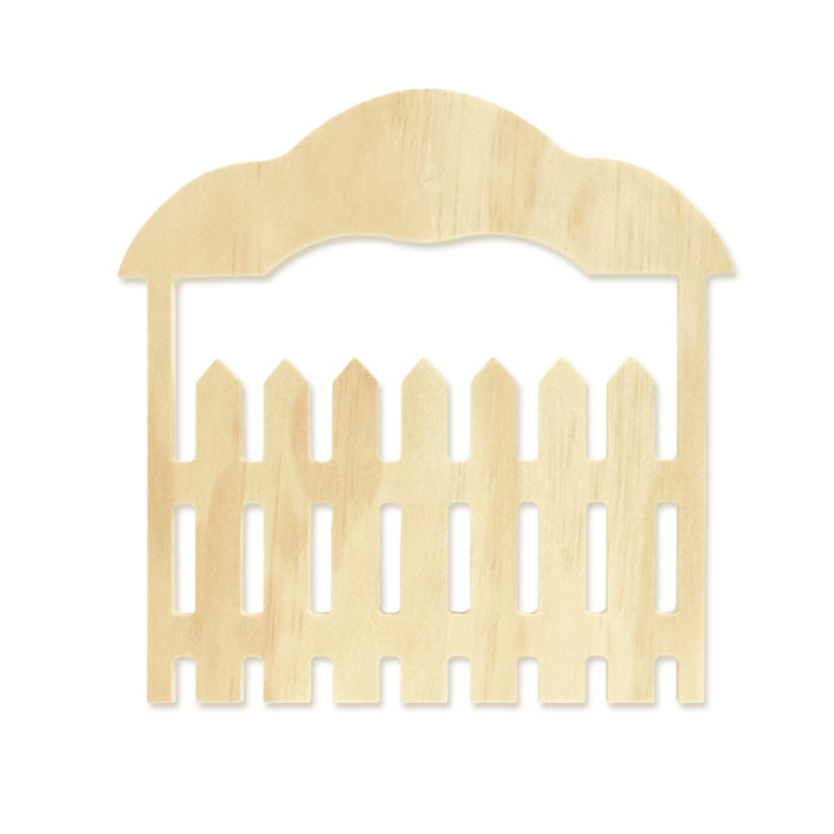 """Wood Craft: 6.7"""" DIY Barn/Ranch Door"""