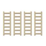 CraftMedley - Wood Ladders 6x2cm 4pc