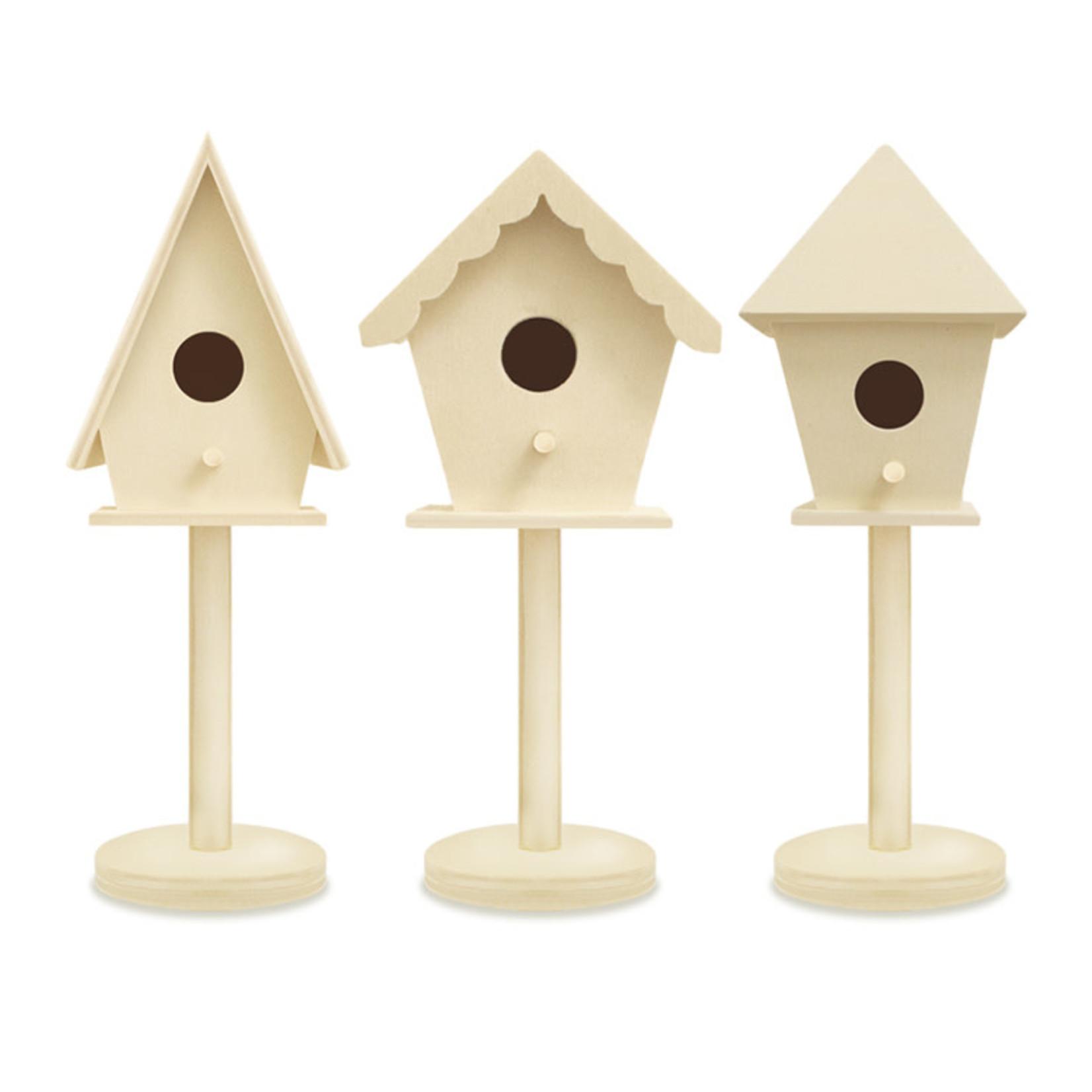 Mini Birdhouse on stand
