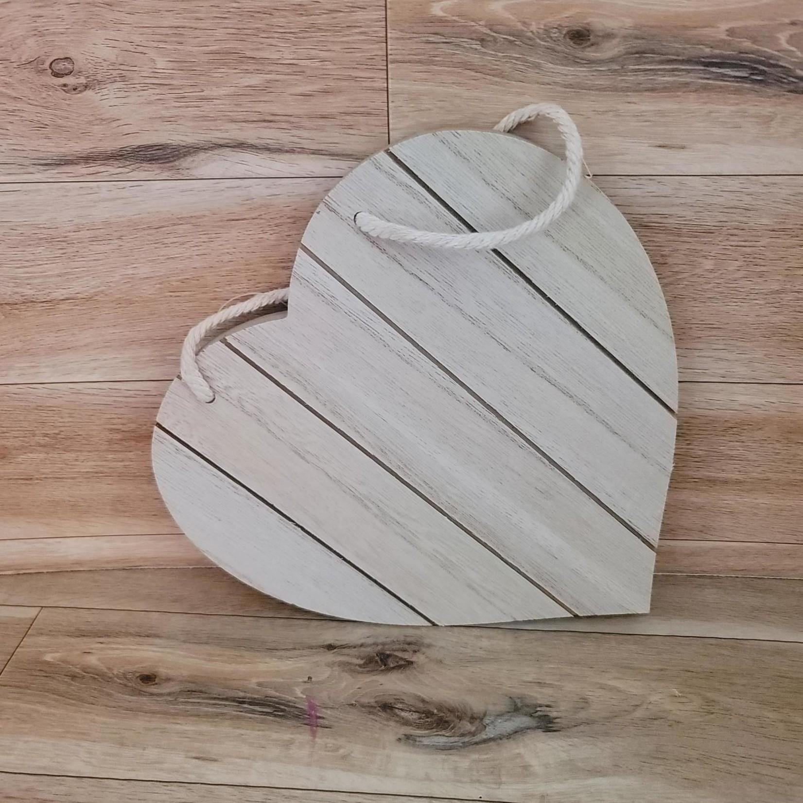 "Slat-wall Plaque - 7.75"" Heart"