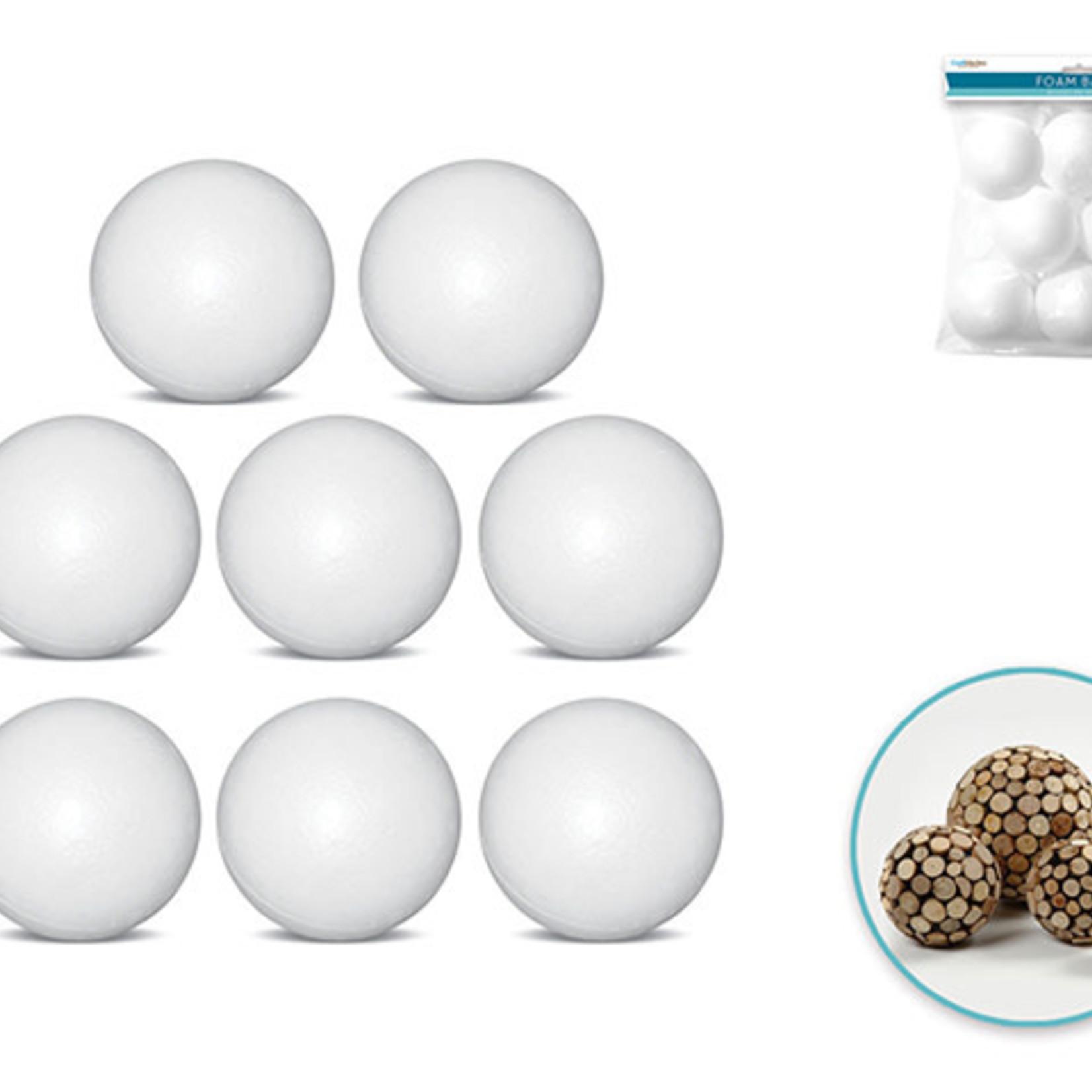 Ployfoam Balls - 8 pack of 2.45