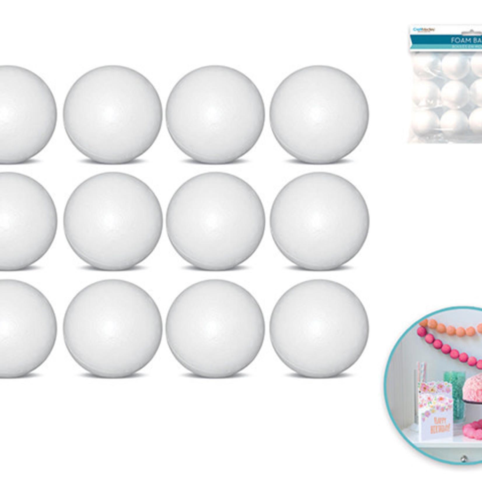 "Ployfoam Balls - 12 pack of 1.5"""
