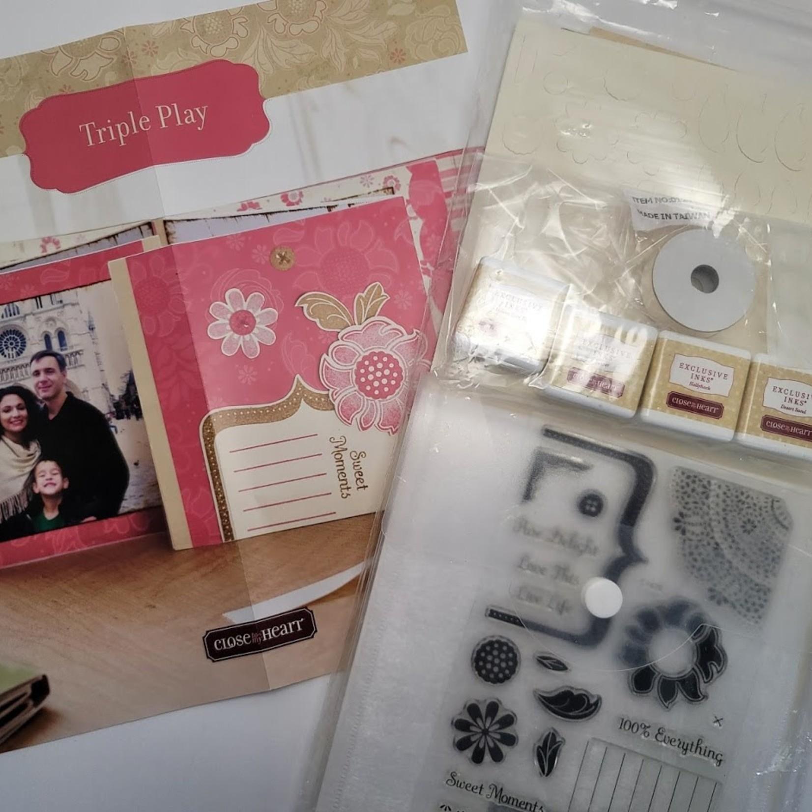 Close to my Heart Close to My Heart - Mini Allbum Kit- Triple Play