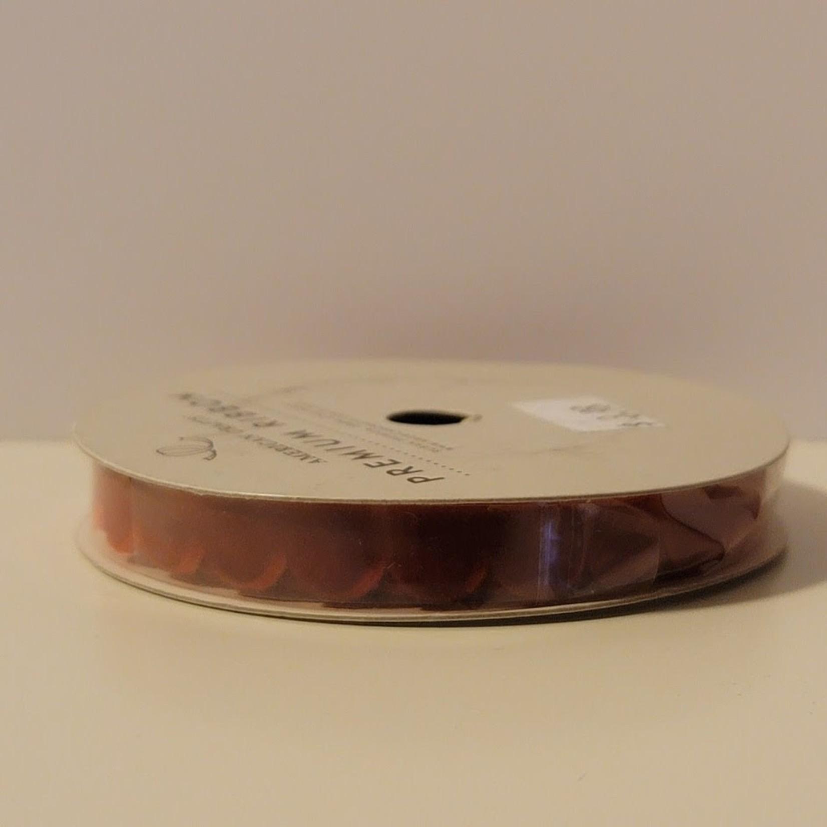 American Crafts American Crafts-Premium Ribbon-Ruban Premium, Pomegranate