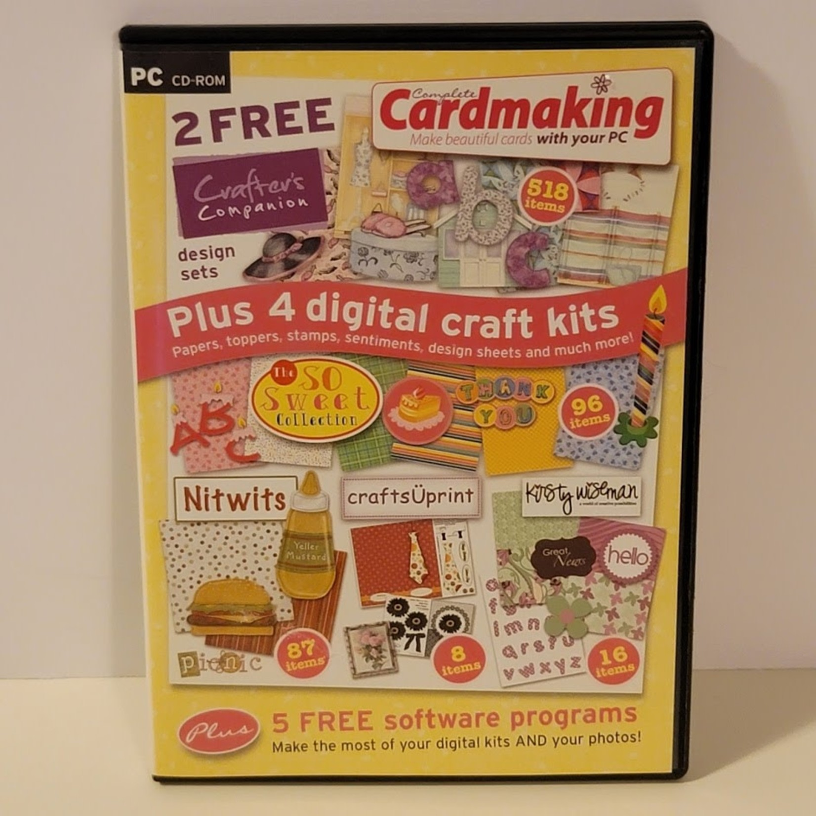 Creative Memories Crafter's Companion - Cardmaking CD-Rom