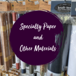Specialty Paper and Other Materials