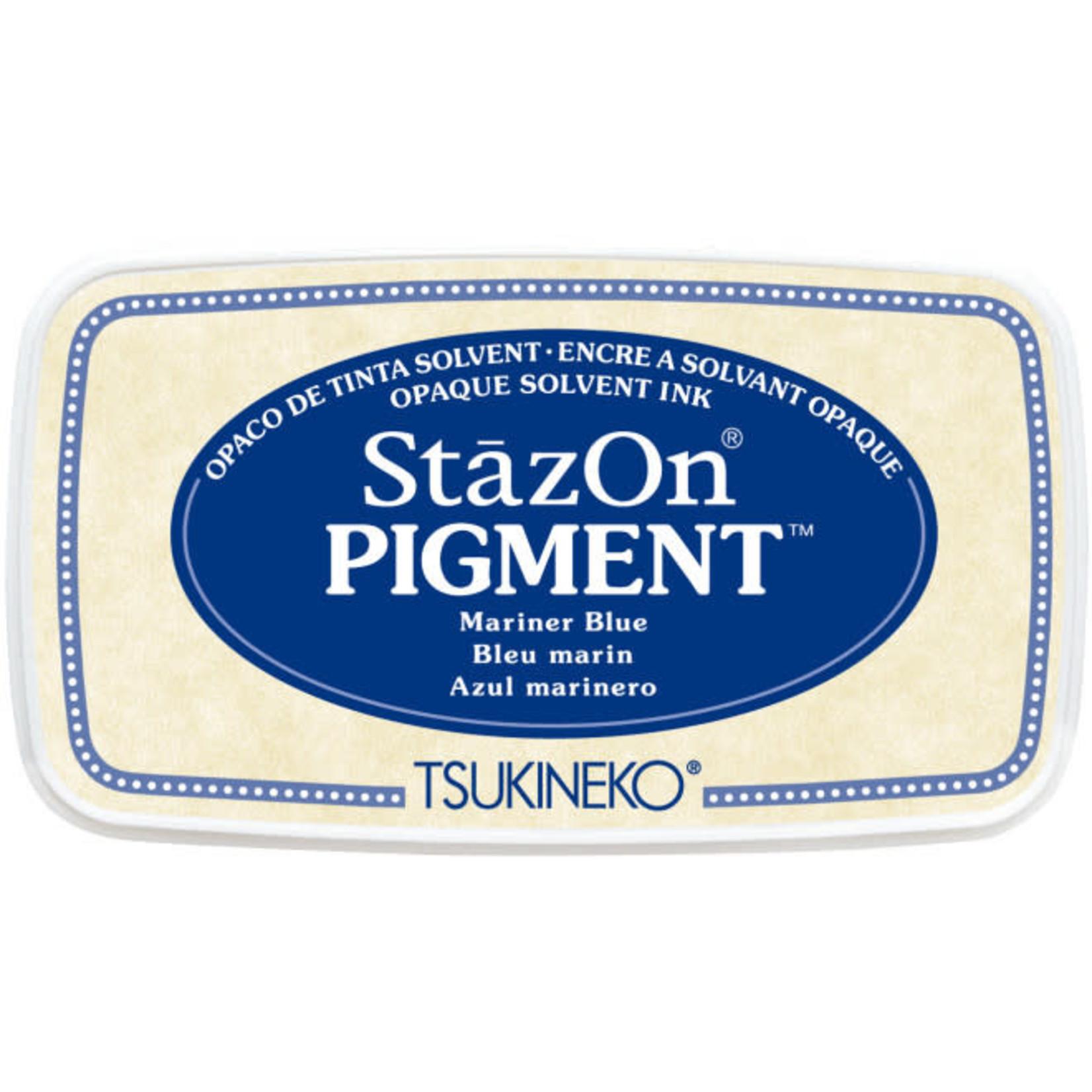 StazOn StazOn Pigment Ink Pad-Mariner Blue