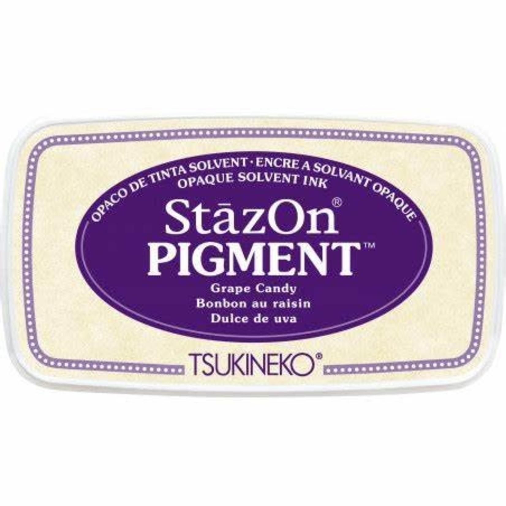 StazOn StazOn Pigment Ink Pad-Grape Candy