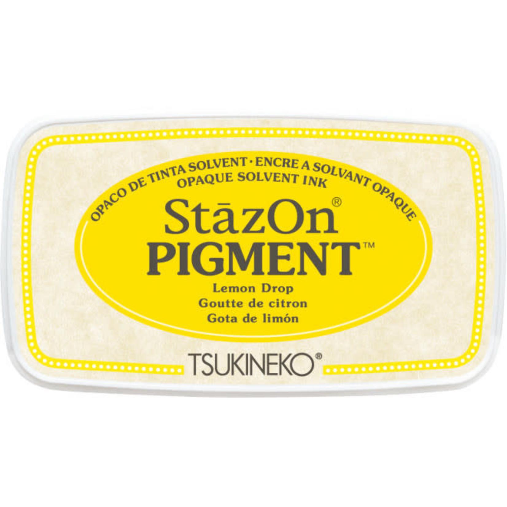 StazOn StazOn Pigment Ink Pad-Lemon Drop