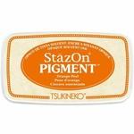 StazOn StazOn Pigment Ink Pad-Orange Peel