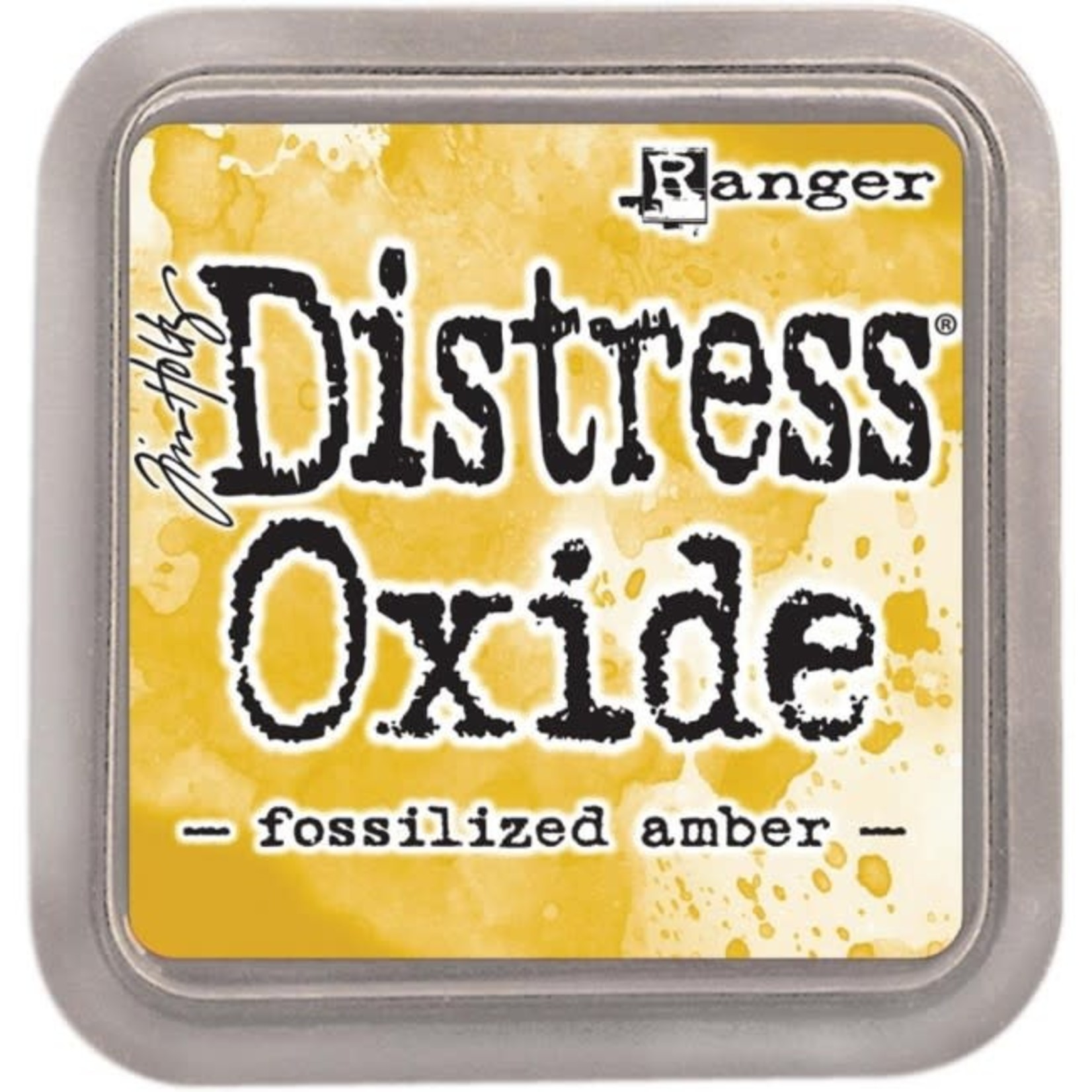 Tim Holtz Tim Holtz Distress Oxides Ink Pad Fossilized Amber