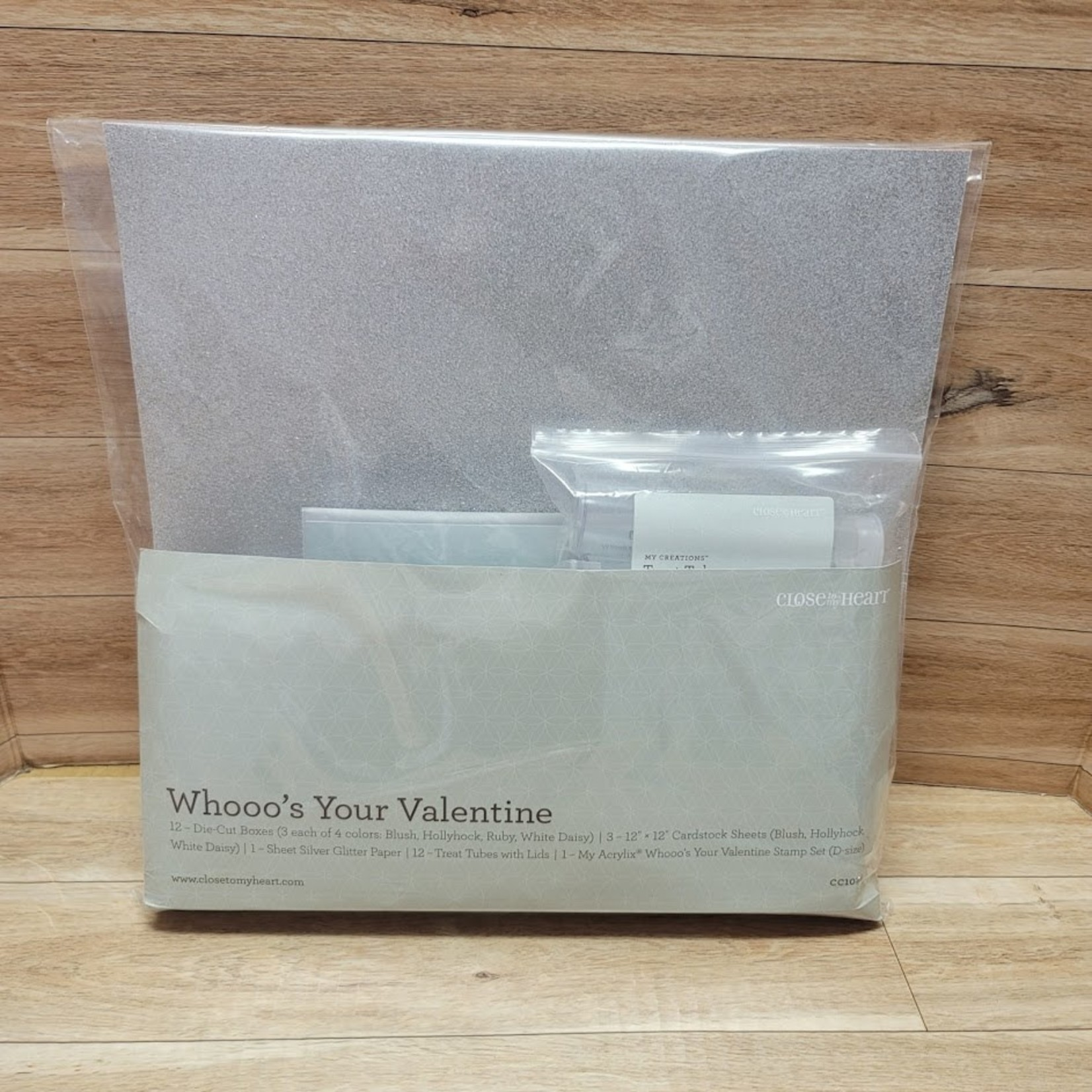 Close to my Heart Close to My Heart - Whooo's Your Valentine Kit