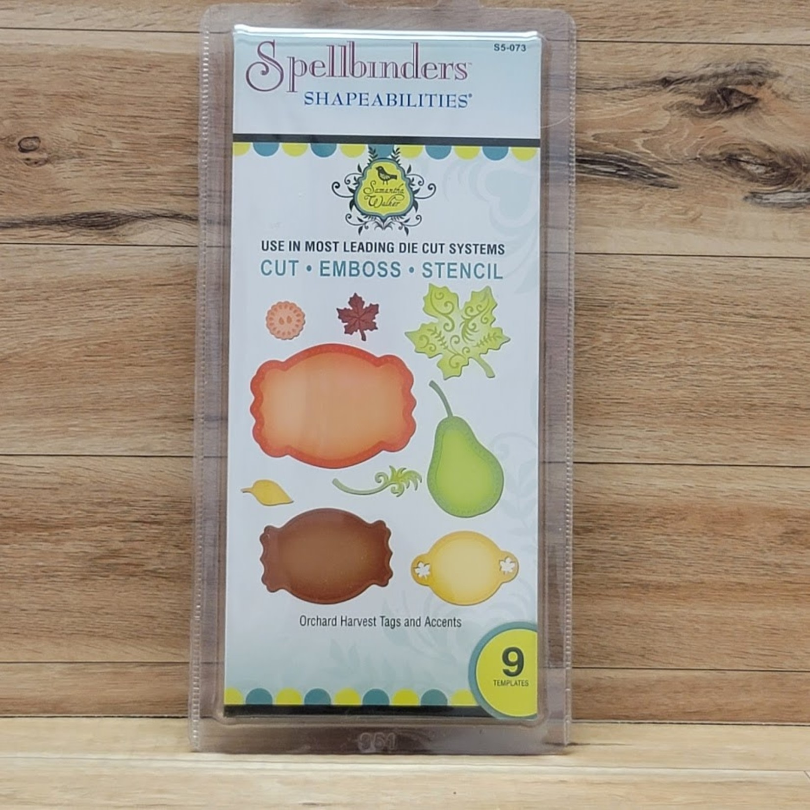 Spellbinders Spellbinders - Shapeabilities - Orchard Harvest Tages and Accents