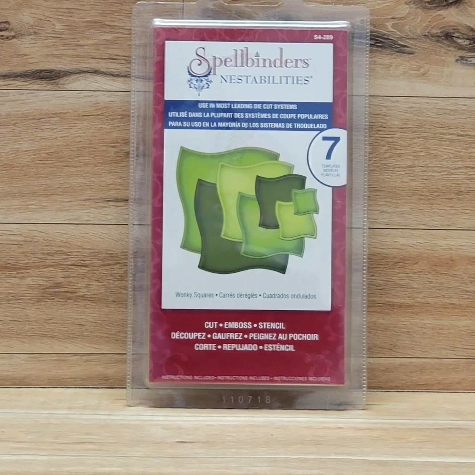 Spellbinders Spellbinders - Nestabilities - Wonky Squares