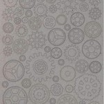 Stamperia Stamperia Greyboard Cut-Outs  2mm Thick-Small Gears Sir Vagabond