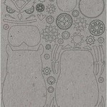 Stamperia Stamperia Greyboard Cut-Outs  2mm Thick-Owl Sir Vagabond
