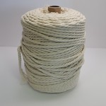4mm Macrame Cord/3 Ply - 1kg (approx 500ft) - Natural