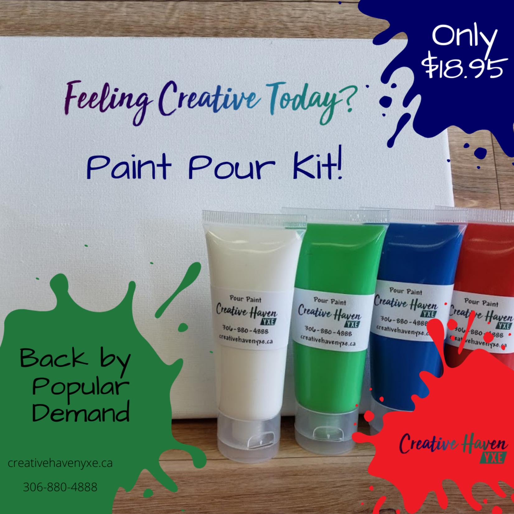 Paint Pour Kit