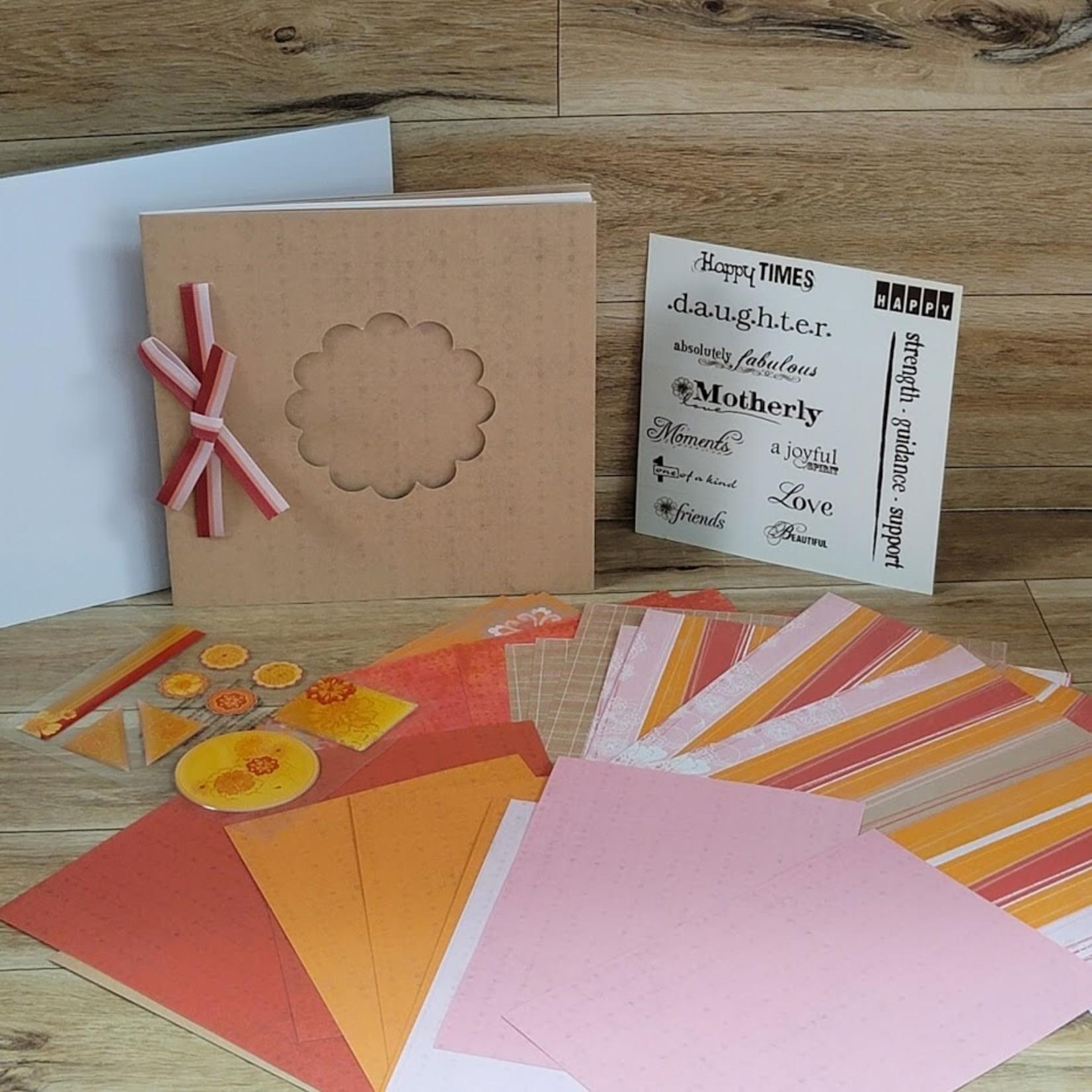 Creative Memories Mini Paper Album kit -For Her