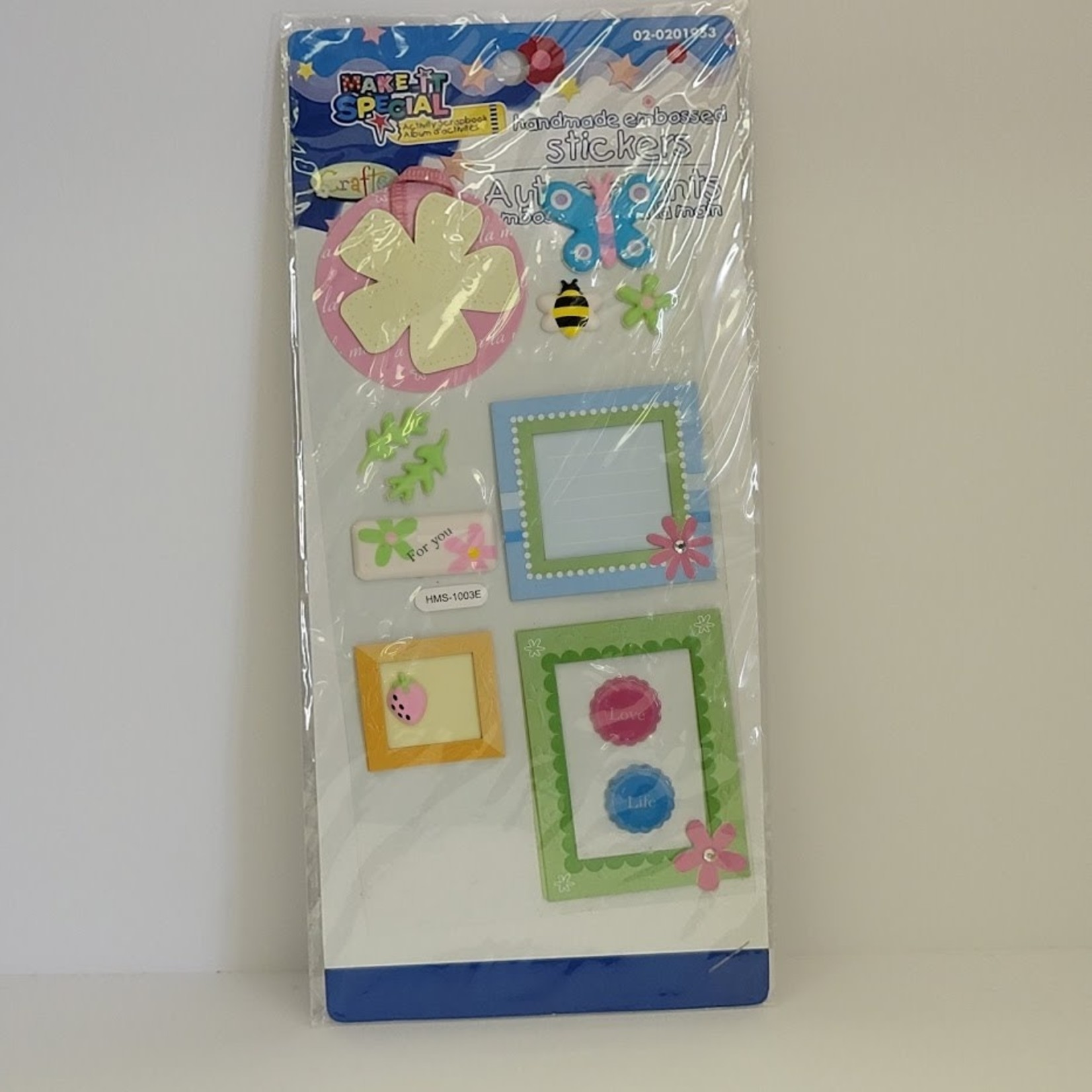 Dimensional Stickers - Girls Frames