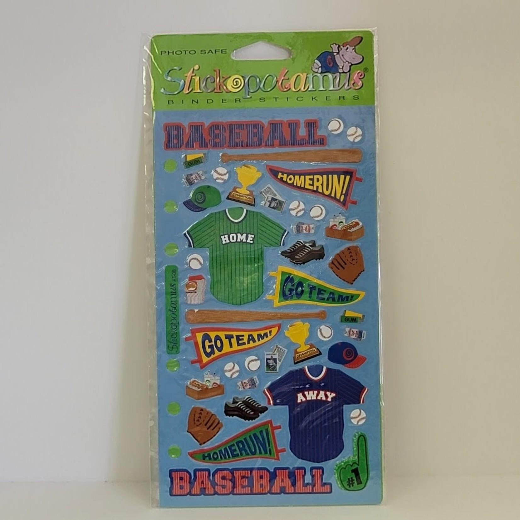 Stickoptamus - Stickers - Baseball