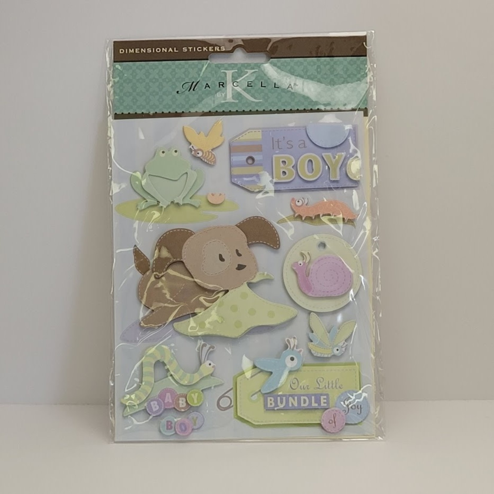 Dimensional Stickers - It's a Boy