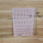 Stencils - Chunky Letters