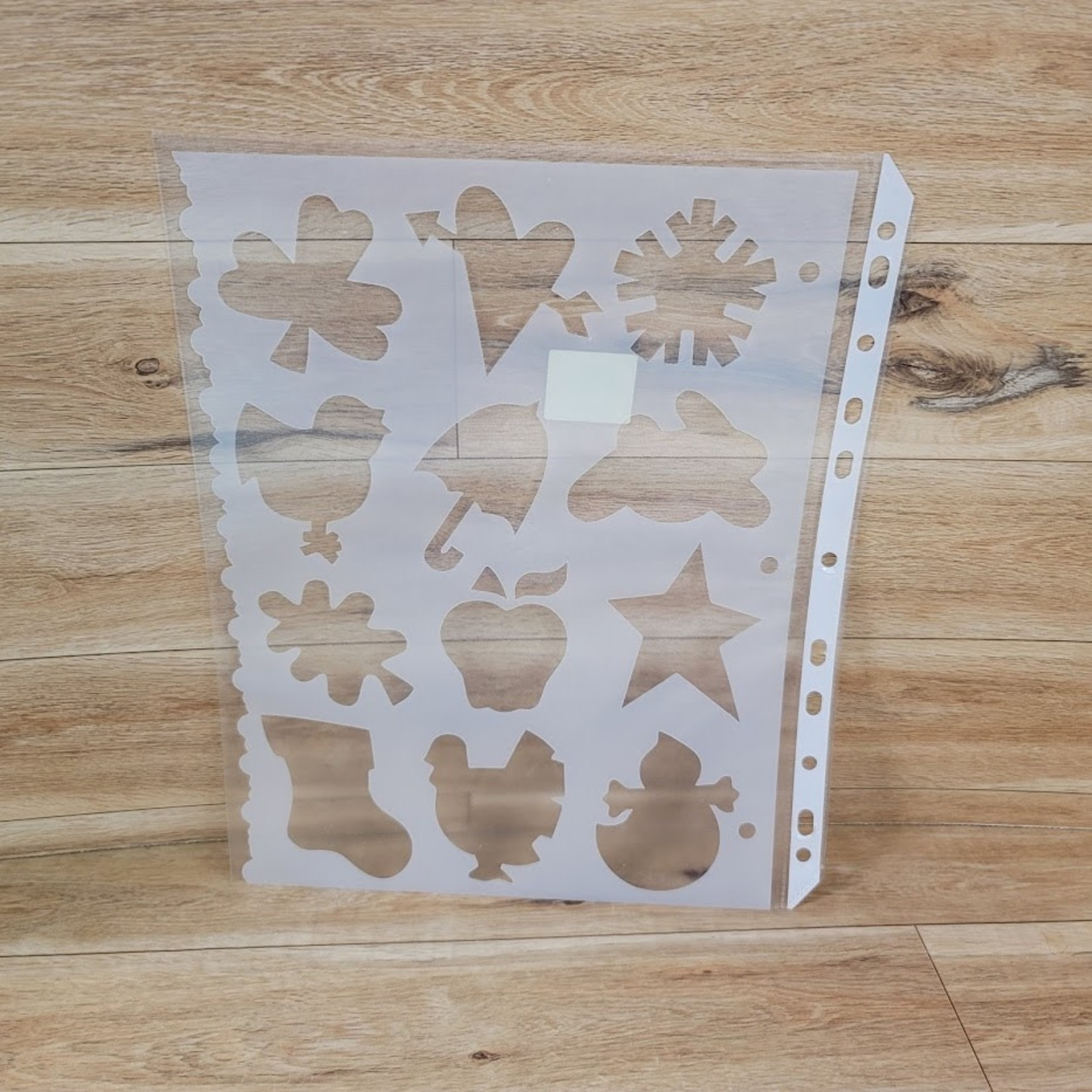 Stencils - Holiday Shapes