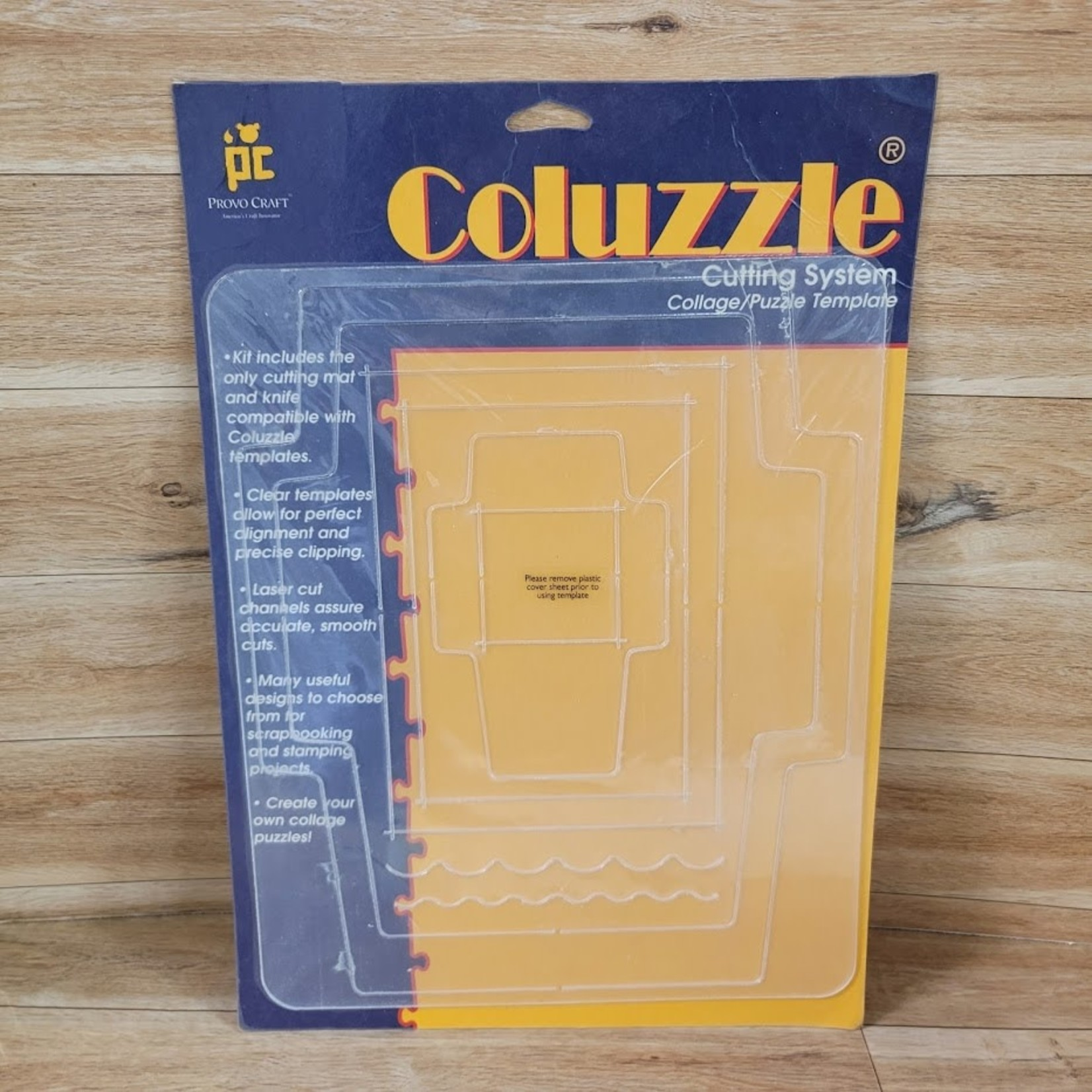 Coluzzle Cutting System - - Envelope/card/tag Template