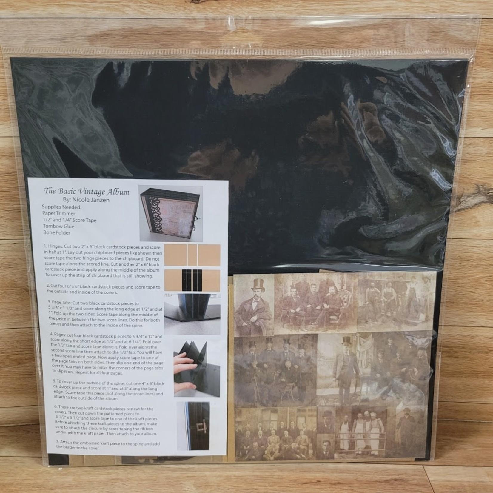 Basic Vintage Album Kit