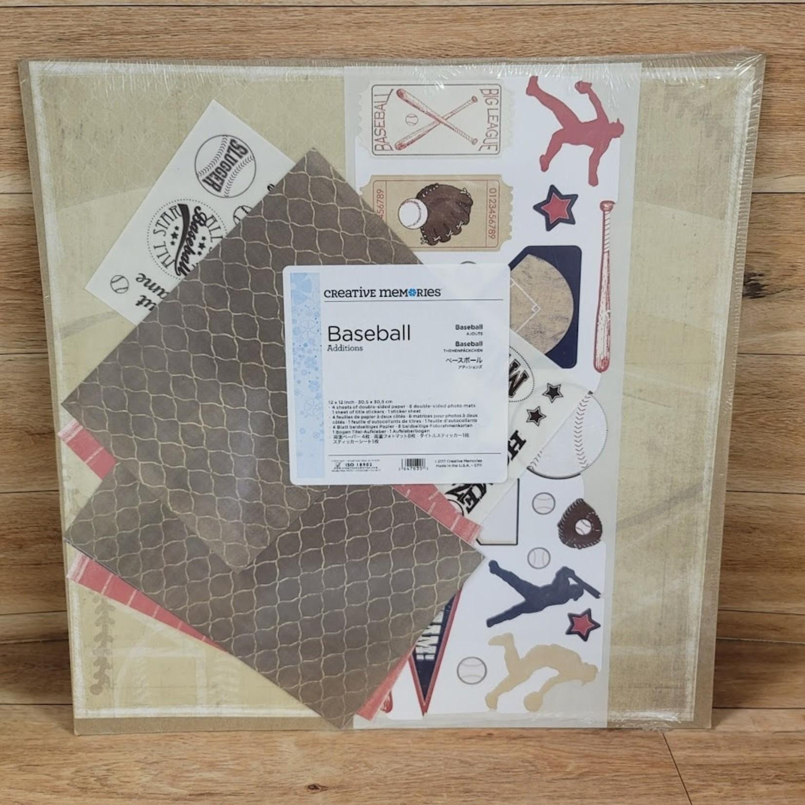 Creative Memories Creative Memories - Additions - Baseball