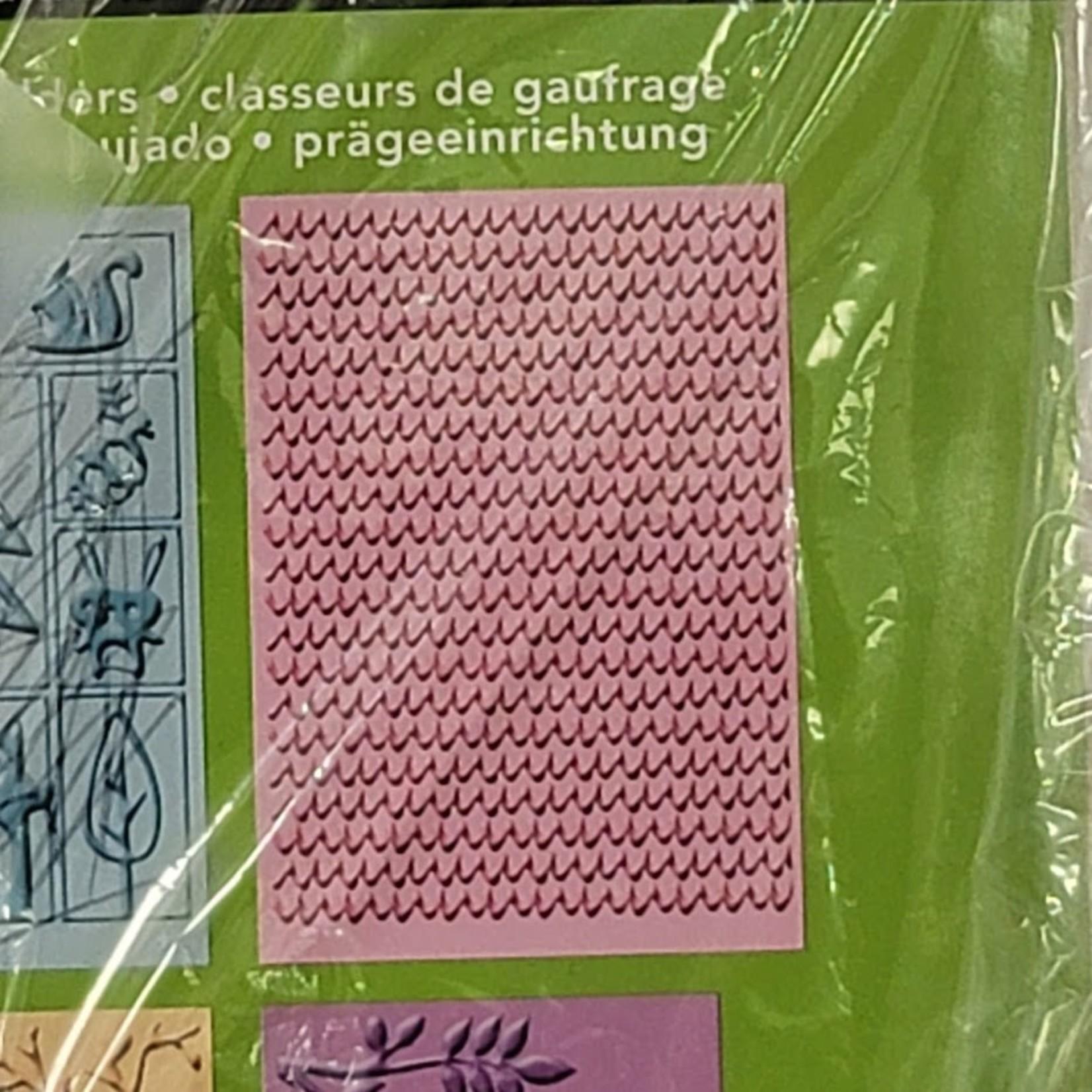 Cuttlebug Cuttlebug - Embossing Folder - Give a Hoot