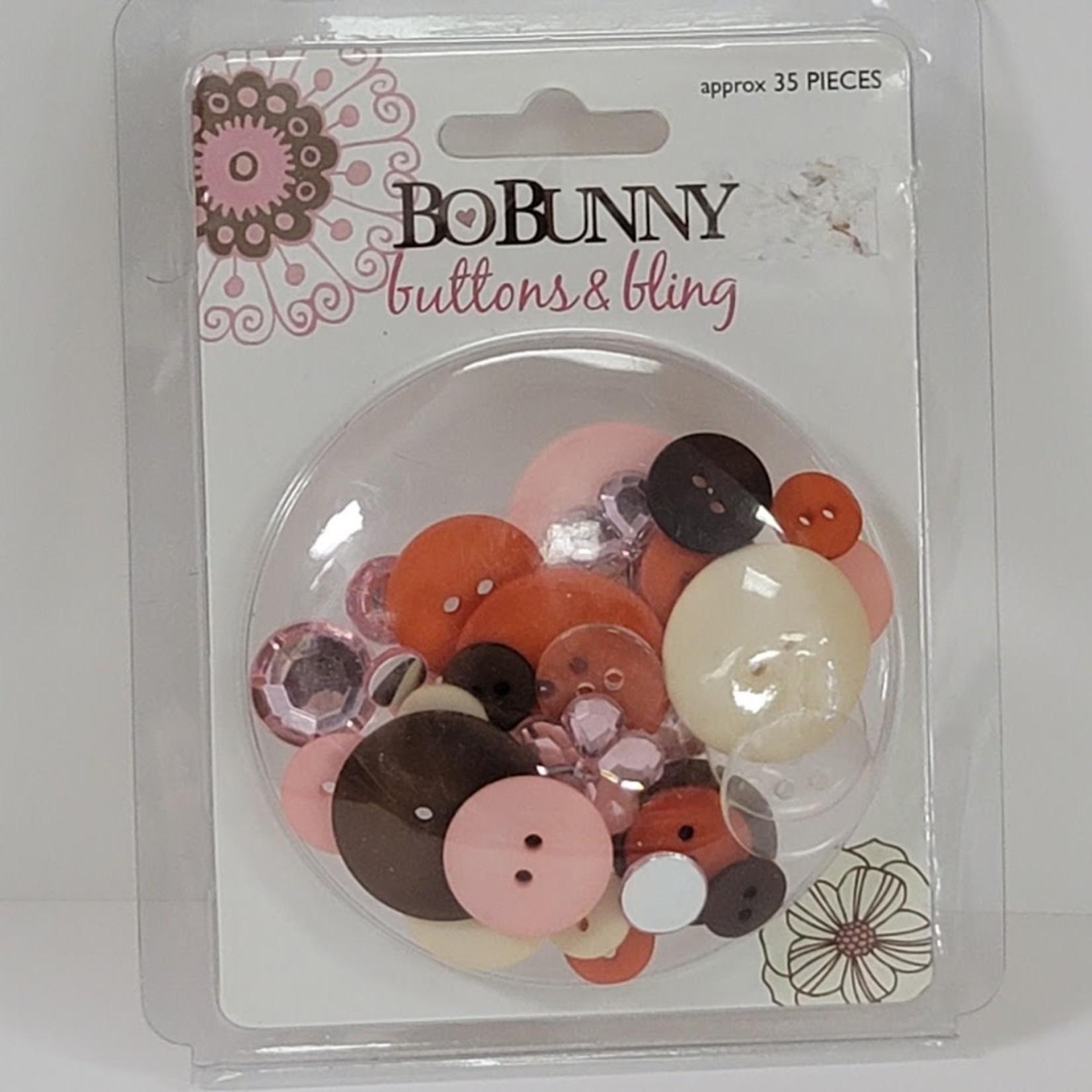 BoBunny BoBunny - Buttons & Bling - Delilah