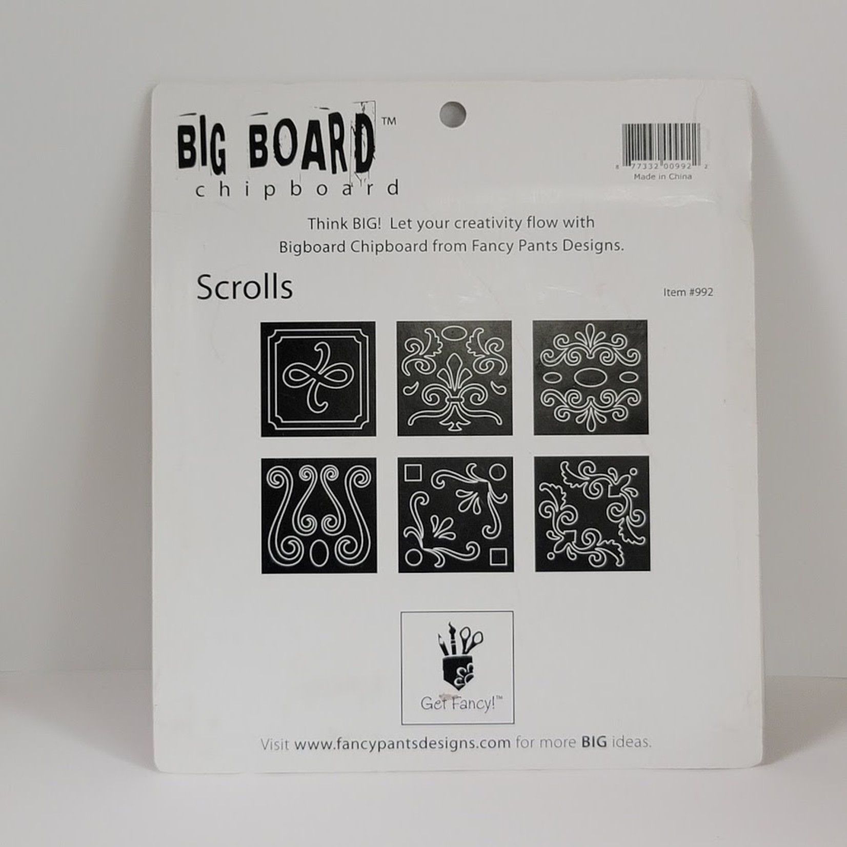 Big Board - Chipboard - Scrolls