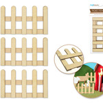 Picket Fence - 3pc