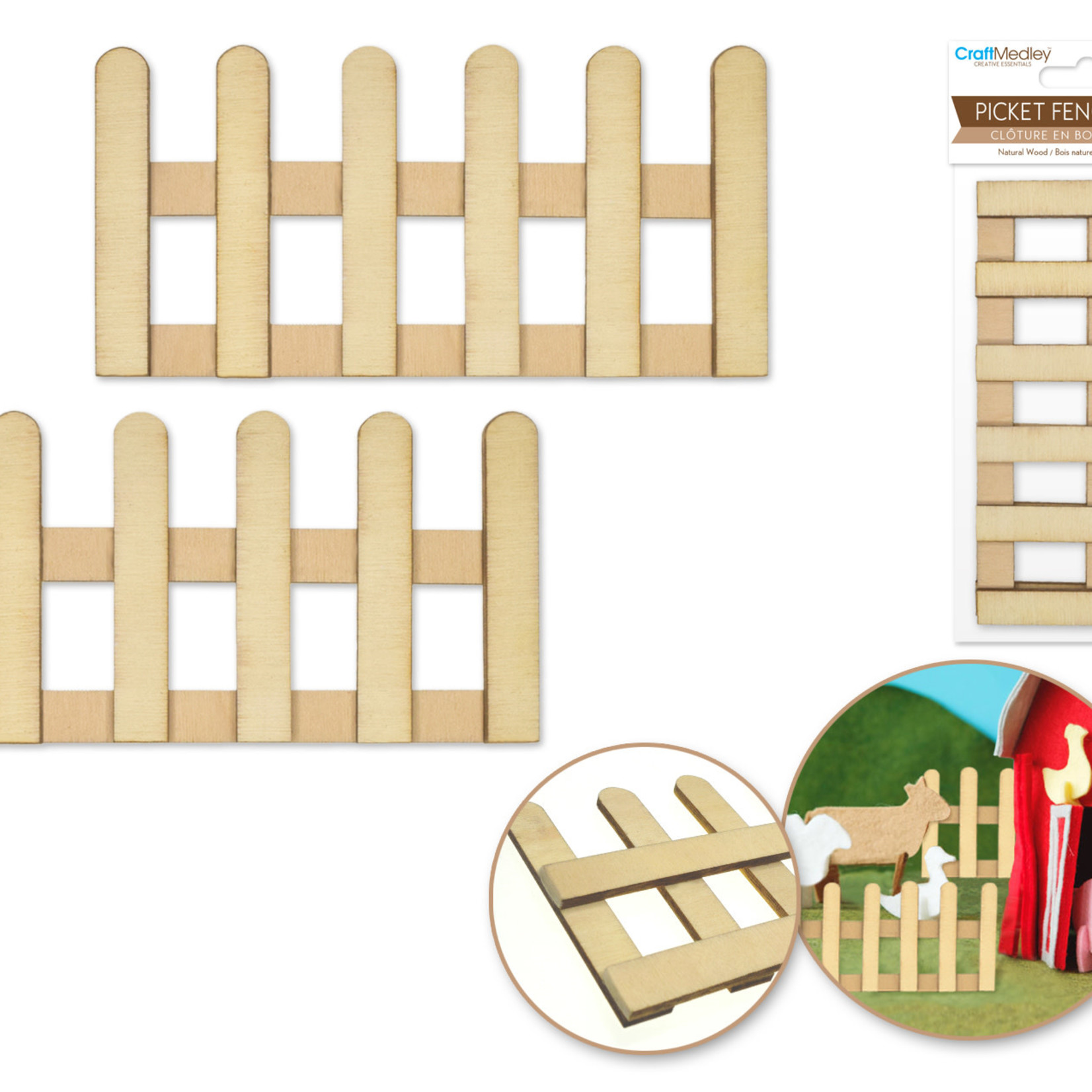 Picket Fence - 2pc