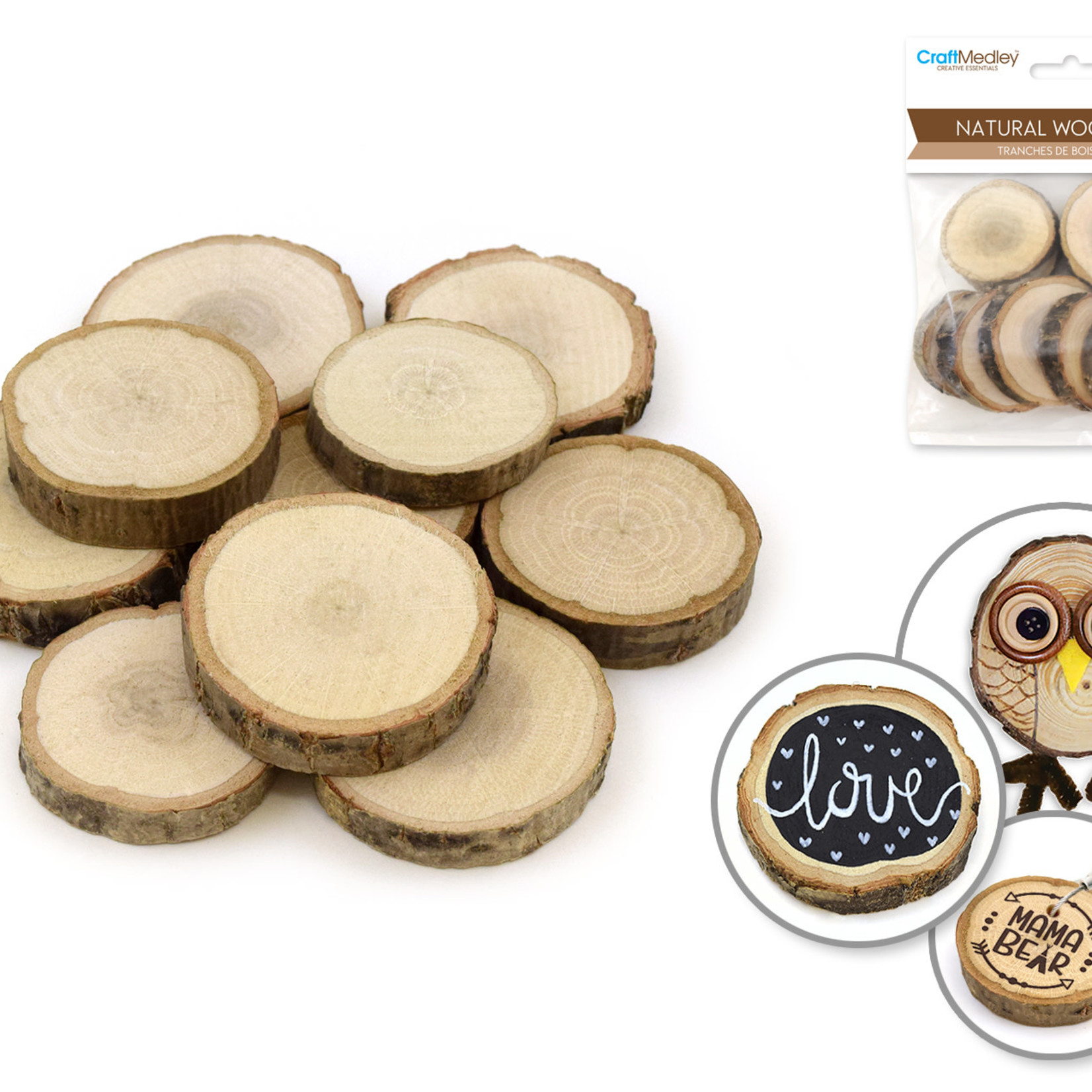 Natural Wood Slices