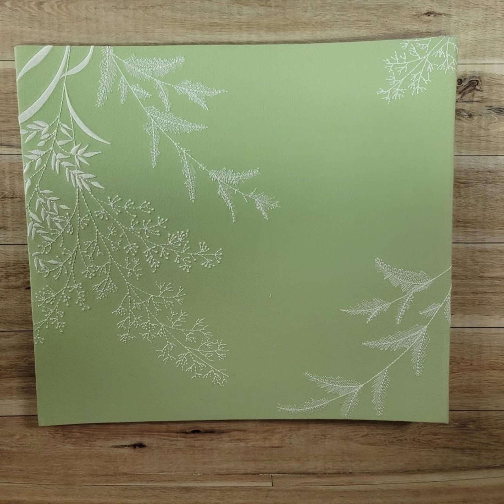 "Postbound Album - 12"" x 12"" with 10 inserts - Green"