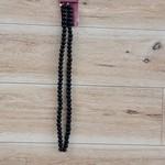 Glass Beads - Noir - 6mm