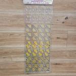 Glitter corner stickers