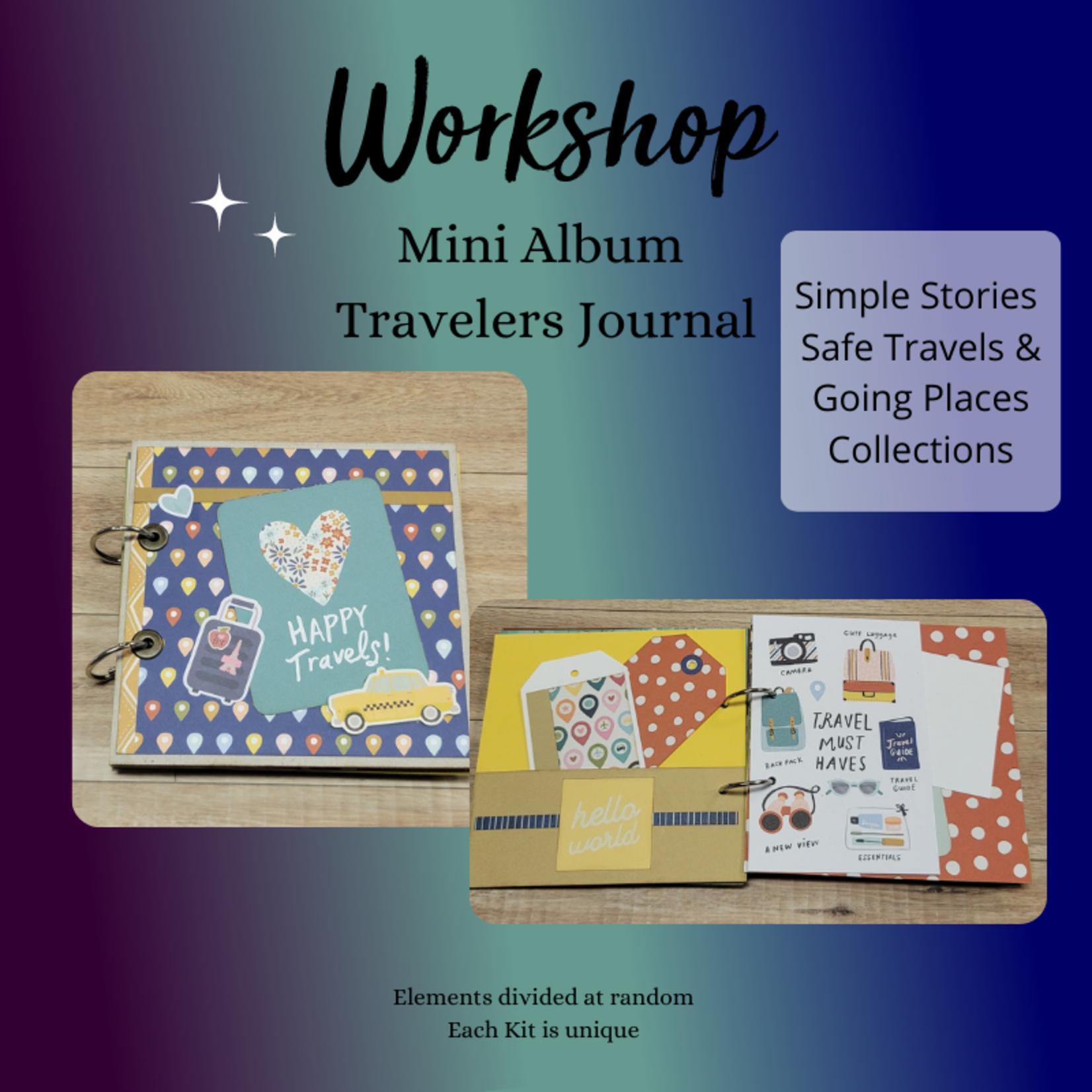 Workshop - Mini Album Travelers Notebook July 14th