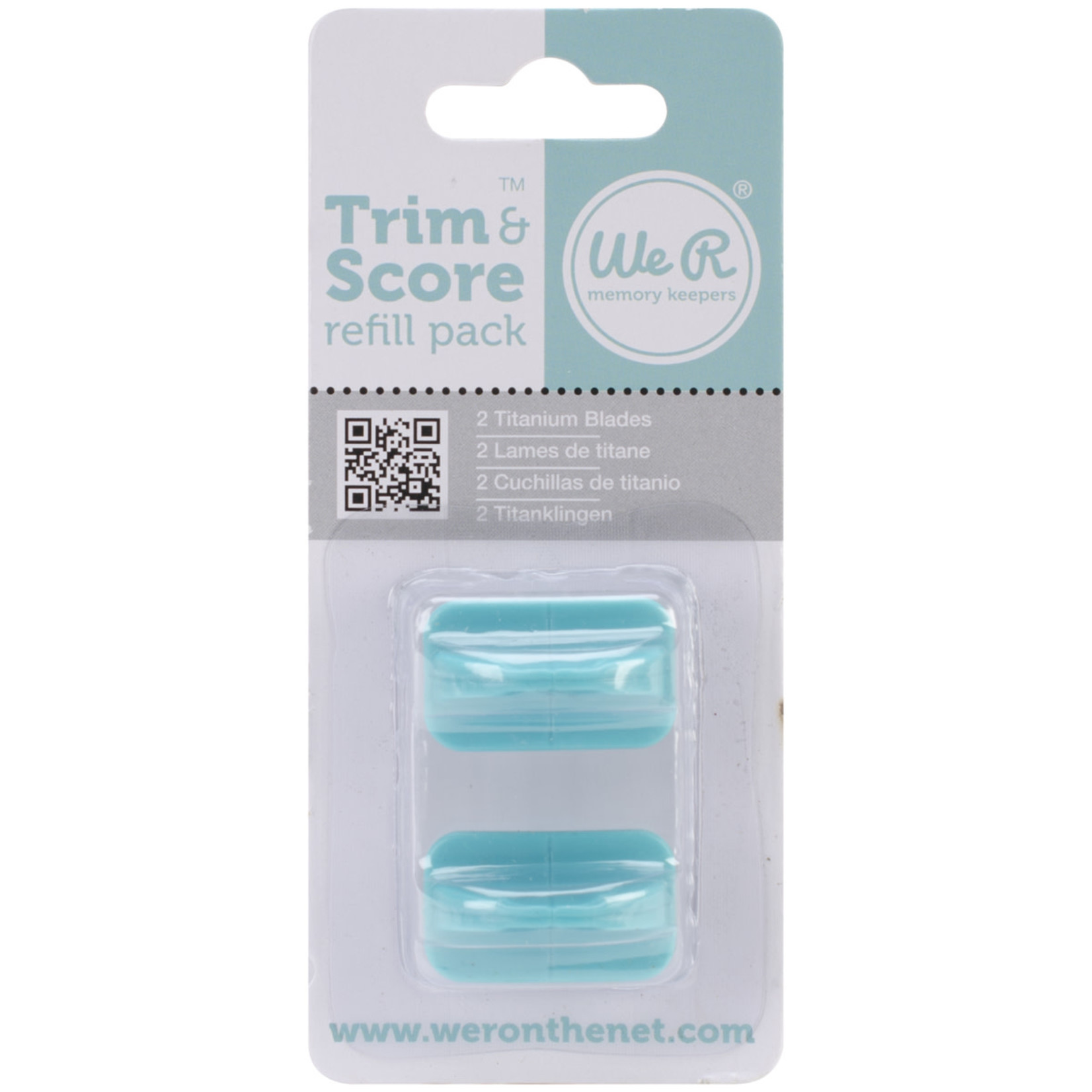We R memory keepers We R Trim & Score Refill Blades 2/Pkg-For 71337