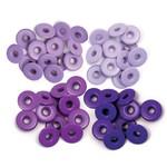 We R memory keepers We R Memory Keepers - Eyelets Wide 40/Pkg-Purple