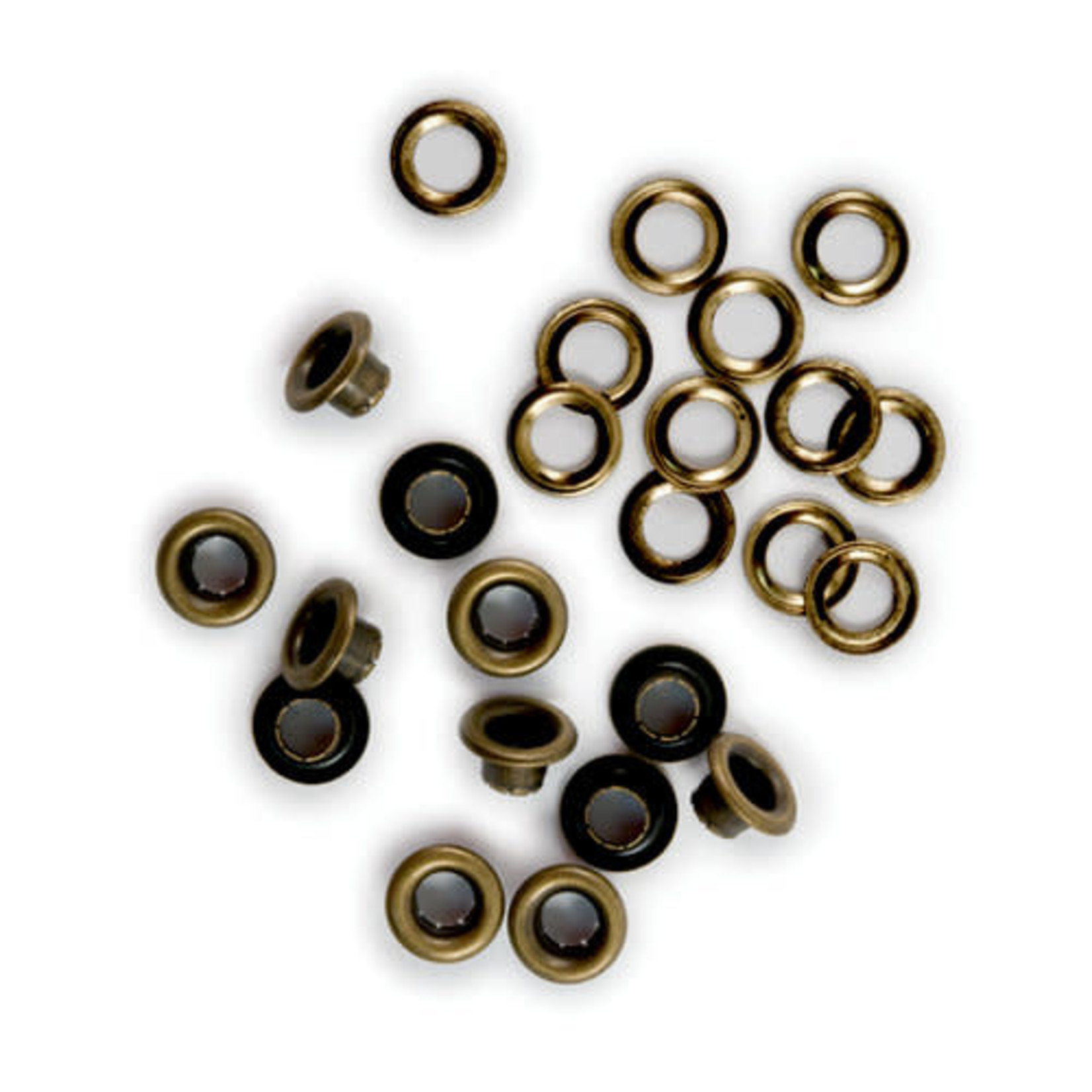 We R memory keepers We R Memory Keepers - Eyelets & Washers Standard-Brass 60/Pkg