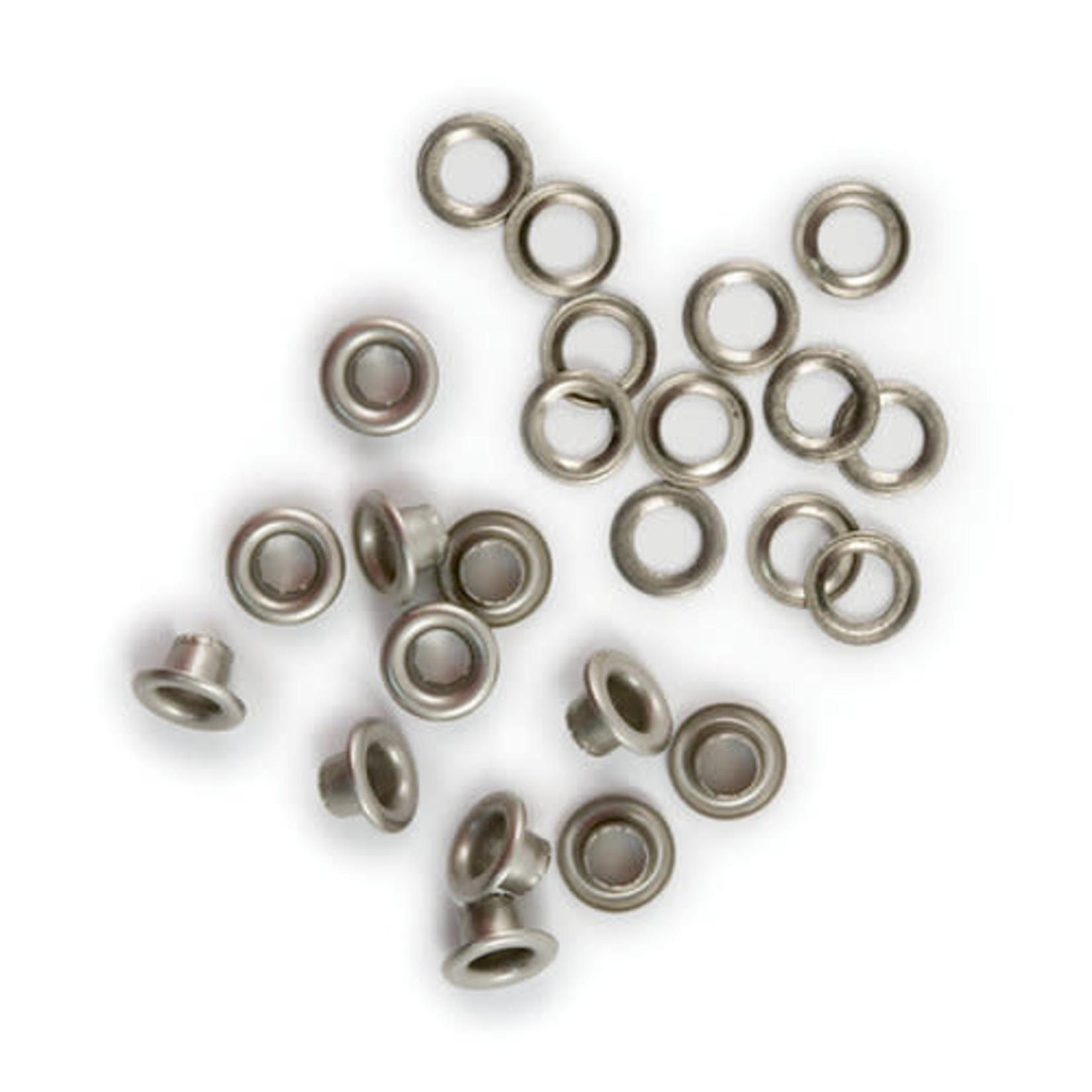 We R memory keepers We R Memory Keepers - Eyelets & Washers Standard-Nickel 60/Pkg