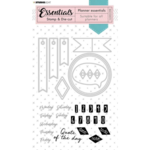 Studio Light Studio Light - Stamp & Die-cut Rectangle Planner Essentials nr.51