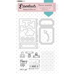 Studio Light Studio Light - Stamp & Die-cut Rectangle Planner Essentials nr.52
