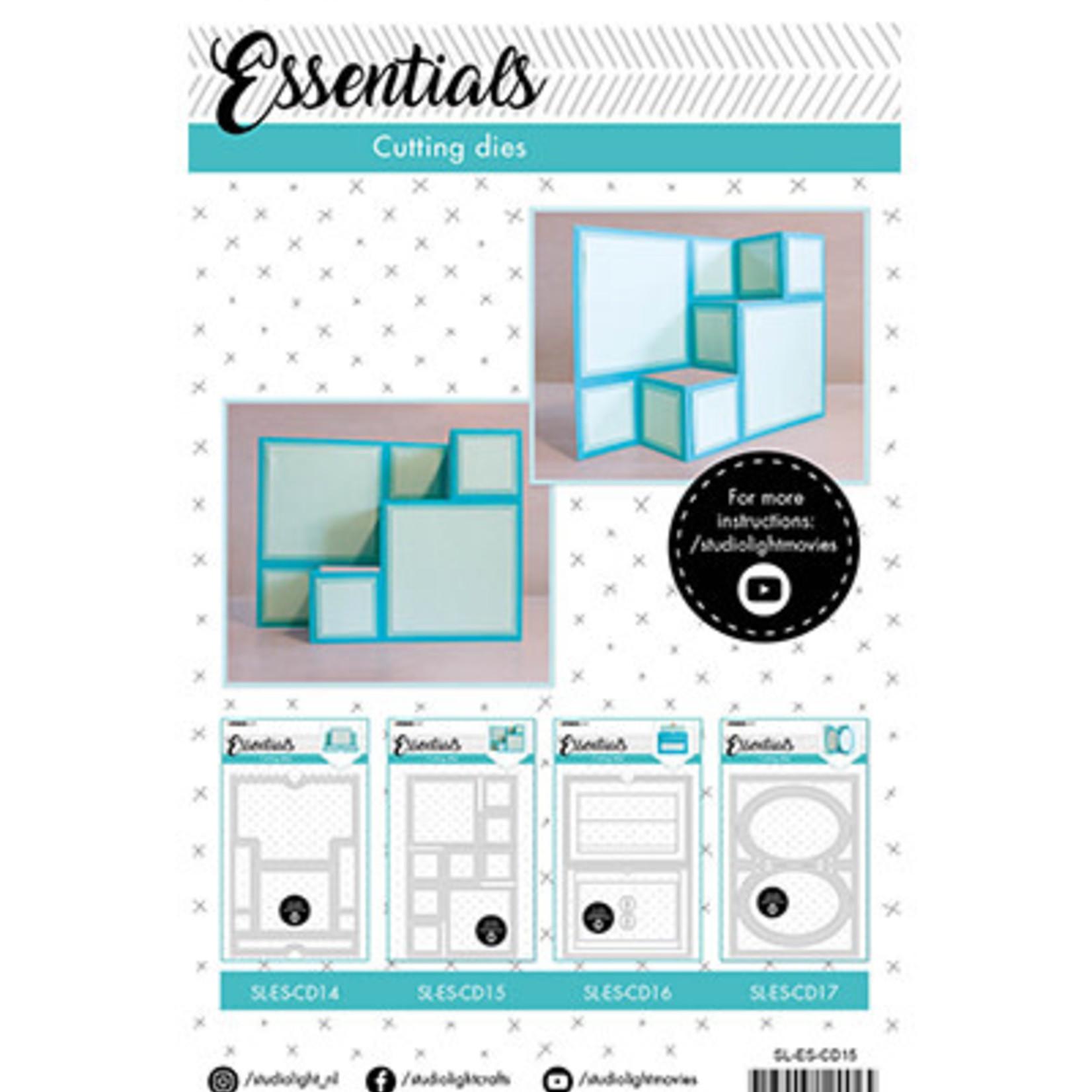 Studio Light Studio Light - Cutting Die Building block cardshape Essentials 122x202mm nr.15